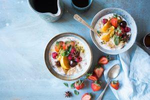 Desayuno sano y completo